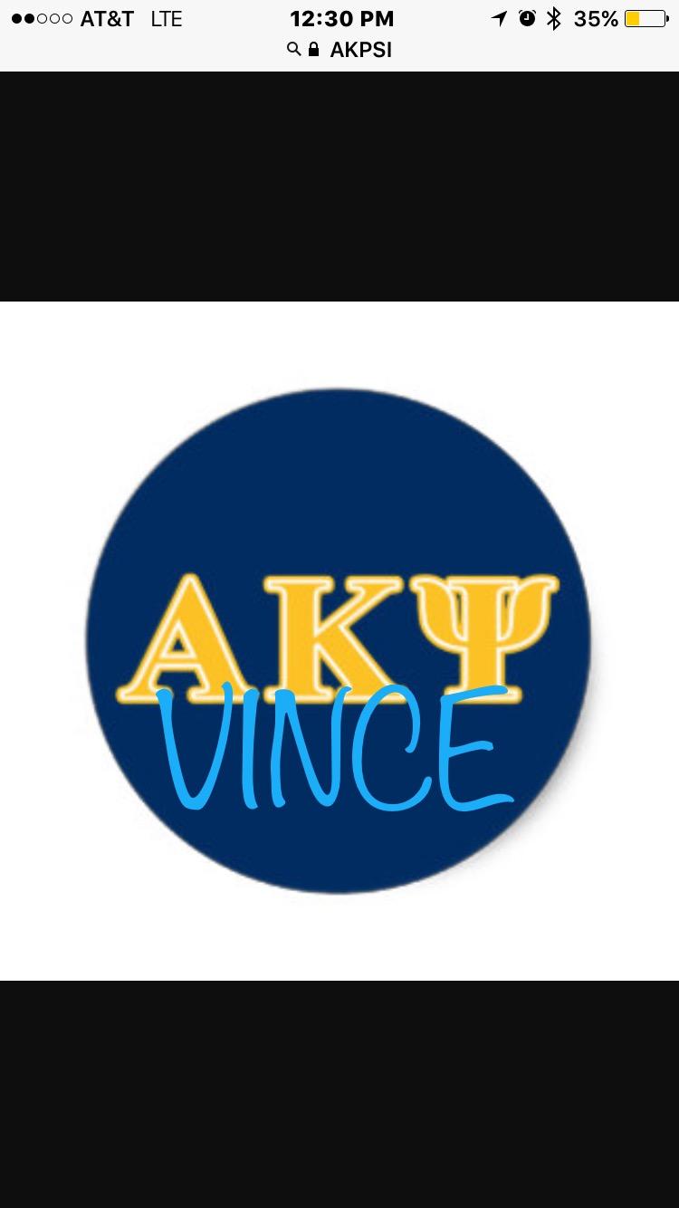 AKPsi Vince