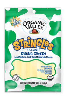 Organic Valley Organic Stringles 1oz