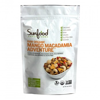 Sunfood Mango Macadamia Adventure 8oz