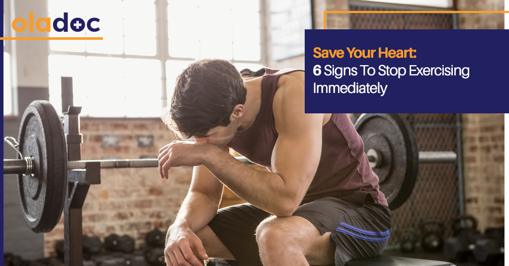 Save Your Heart: 6 Signs To Stop Exercising Immediately