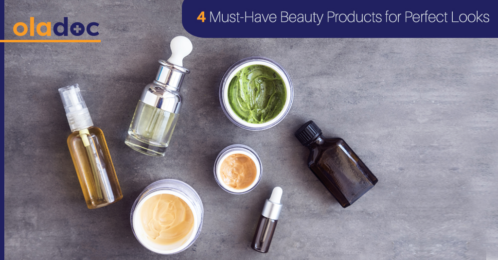 4 Must-Have Beauty Products for Gorgeous Skin!
