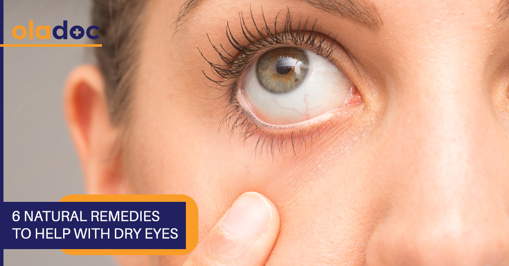 Six natural remedies to help with dry eyes