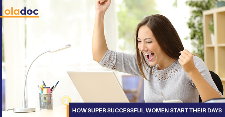 How Super Successful Women Start Their Days