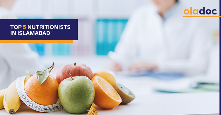 Top 5 Nutritionists In Islamabad | Diet and Nutrition
