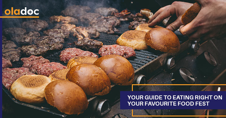 Your Guide To Eating Right On Your Favourite Food Fest