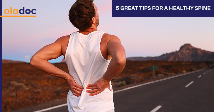 5 Great Tips For A Healthy Spine