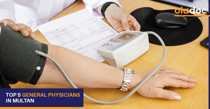 top 5 general physicians in Multan