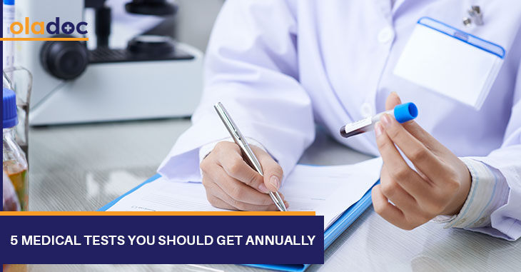 5 Medical Tests You Should Get Annually