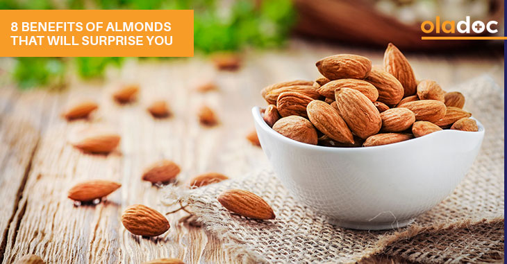 8 Benefits Of Almonds That Will Surprise You