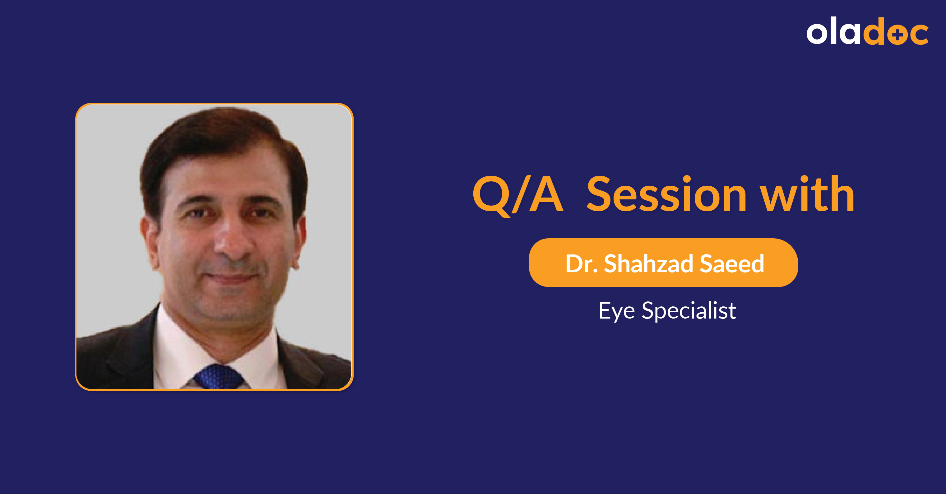 Glaucoma Treatment: Q and A with Dr. Shahzad Saeed