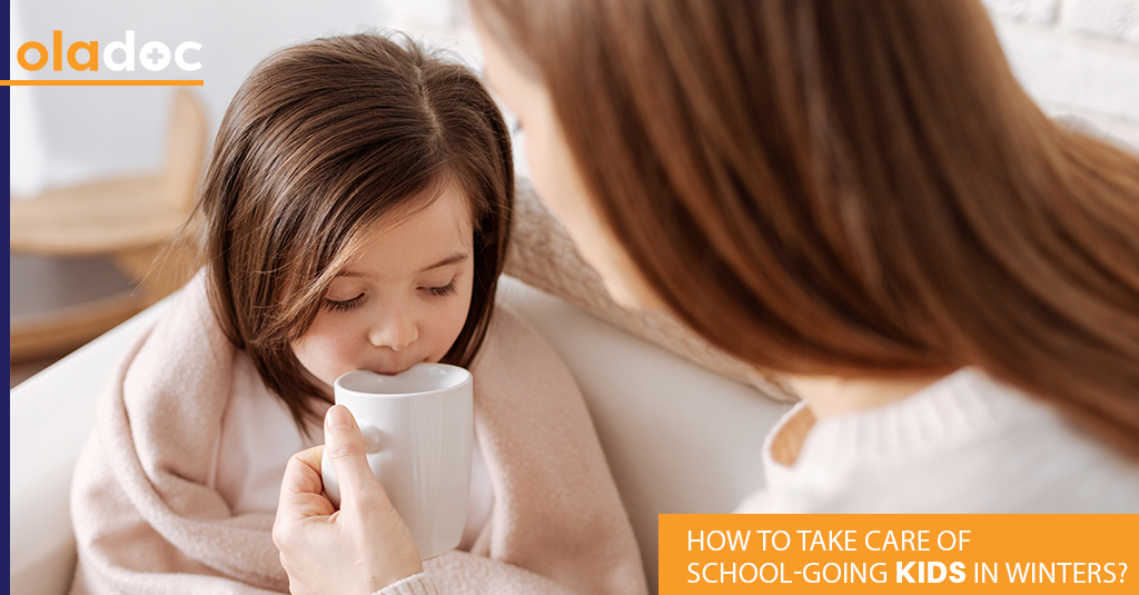 How to Take Care of School-Going Kids in Winters