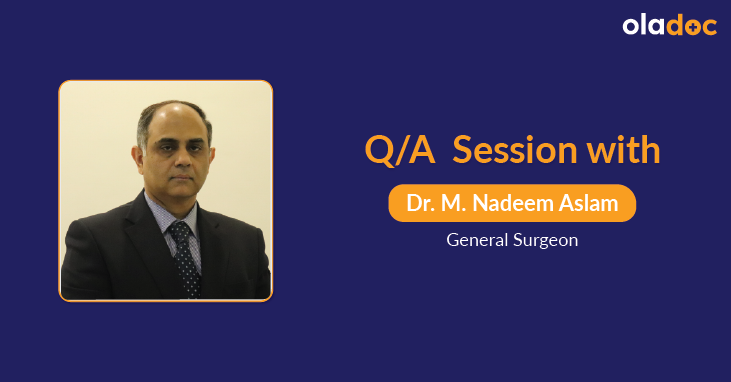 Hernia Treatment: Q and A with Nadeem Aslam