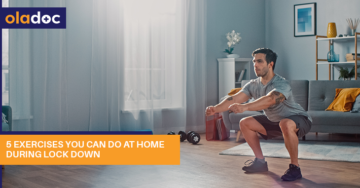 5 Exercises You Can Do at Home During the Lockdown