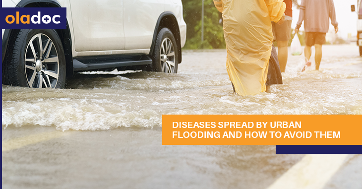 Diseases Spread by Urban Flooding and How to Avoid Them