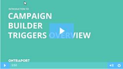Campaign Builder Triggers