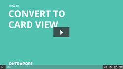 Convert to Card View