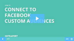 Integrate with Facebook Custom Audiences
