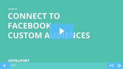 Integrate with Facebook Custom Audiences