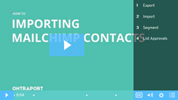 Import MailChimp Contacts