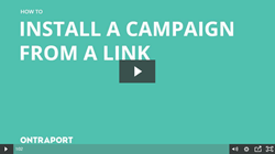 install a Campaign from a link