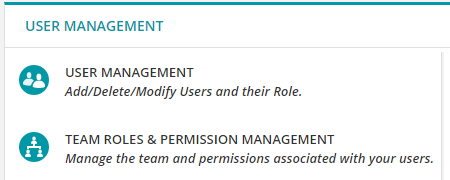 Team roles found in Administration