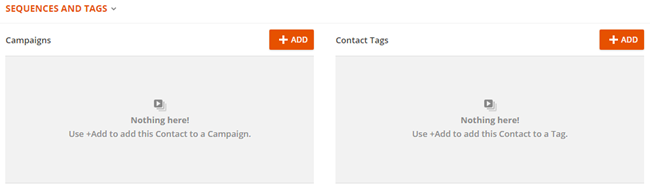 contact tags knowledge base ontraport