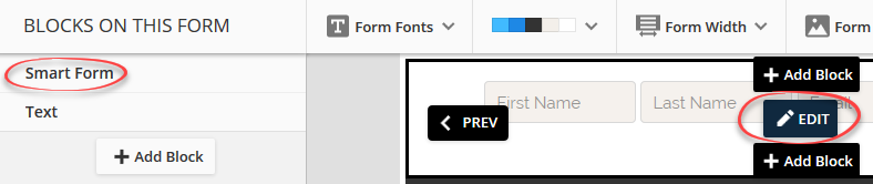 Form Connector (Premium Only) – ONTRApages