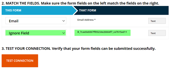 match the fields you recognize to the ONTRApages fields and use ignore field for any you don't recognize