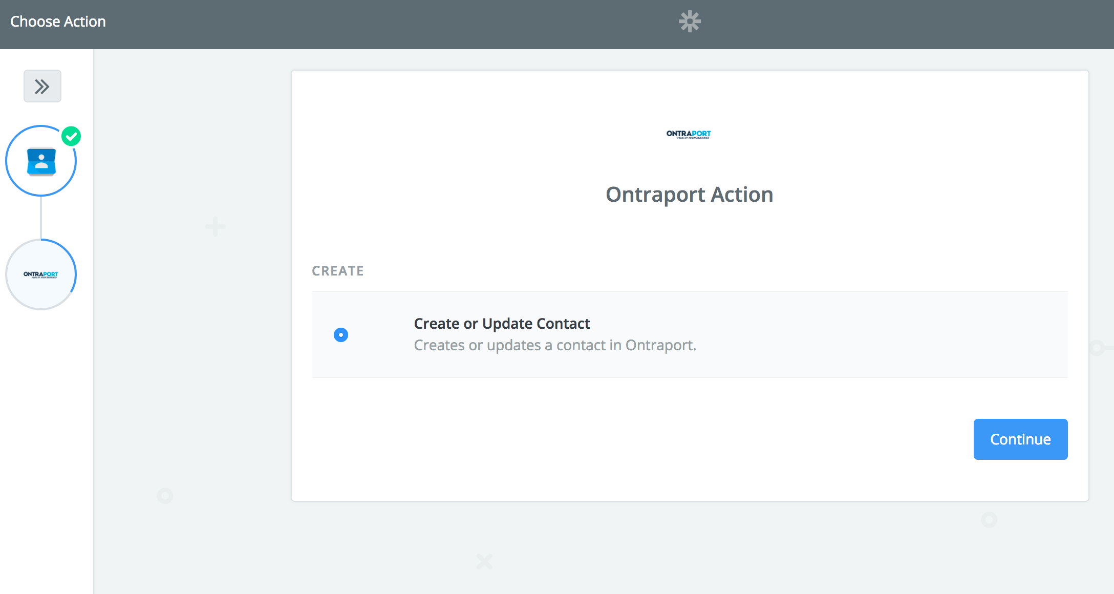 Google Contacts Action