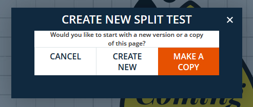 New Split Test Options