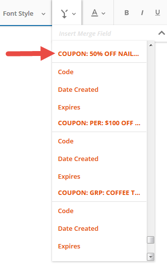Coupon codes knowledge base ontraport expires the end date for personalgroup coupons or the last day the personal countdown timer coupon is available for use fandeluxe Choice Image