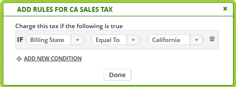 Adding Tax Types to ONTRAPORT – Knowledge Base | ONTRAPORT