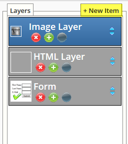 add new layer on legacy landing page