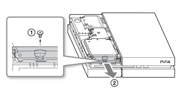 Replacing Internal Hard Drive on PS4Soporte de PlayStation