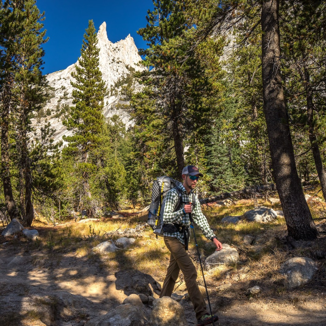 Cathedral Peak | John Muir Trail Honeymoon