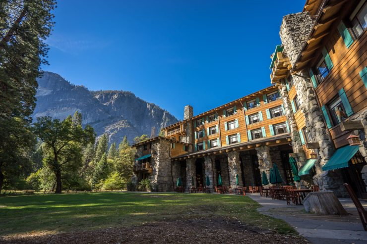 The beautiful Ahwahnee Hotel!