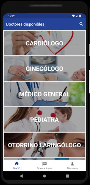 Aplicación móvil para Android de MediAppMx