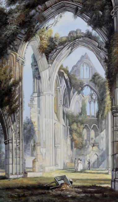 Tintern Abbey Canvas Art Amp Reproduction Oil Paintings