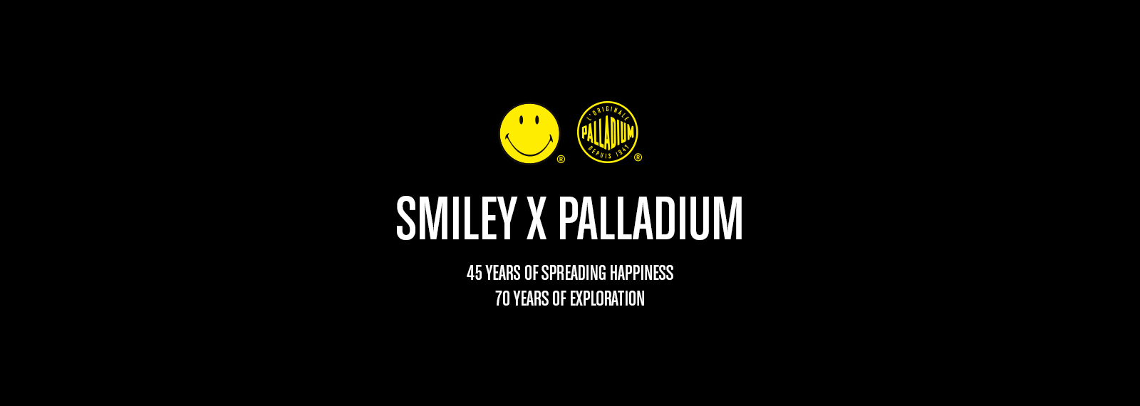 SMILEY X Palladium