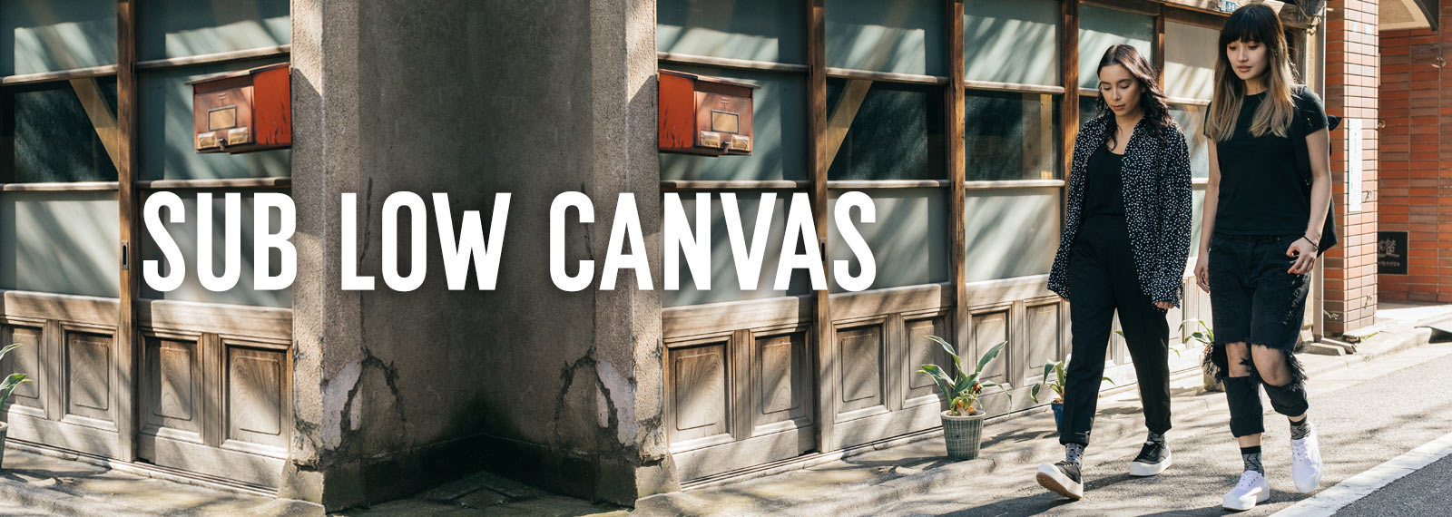 SUB LOW CANVAS