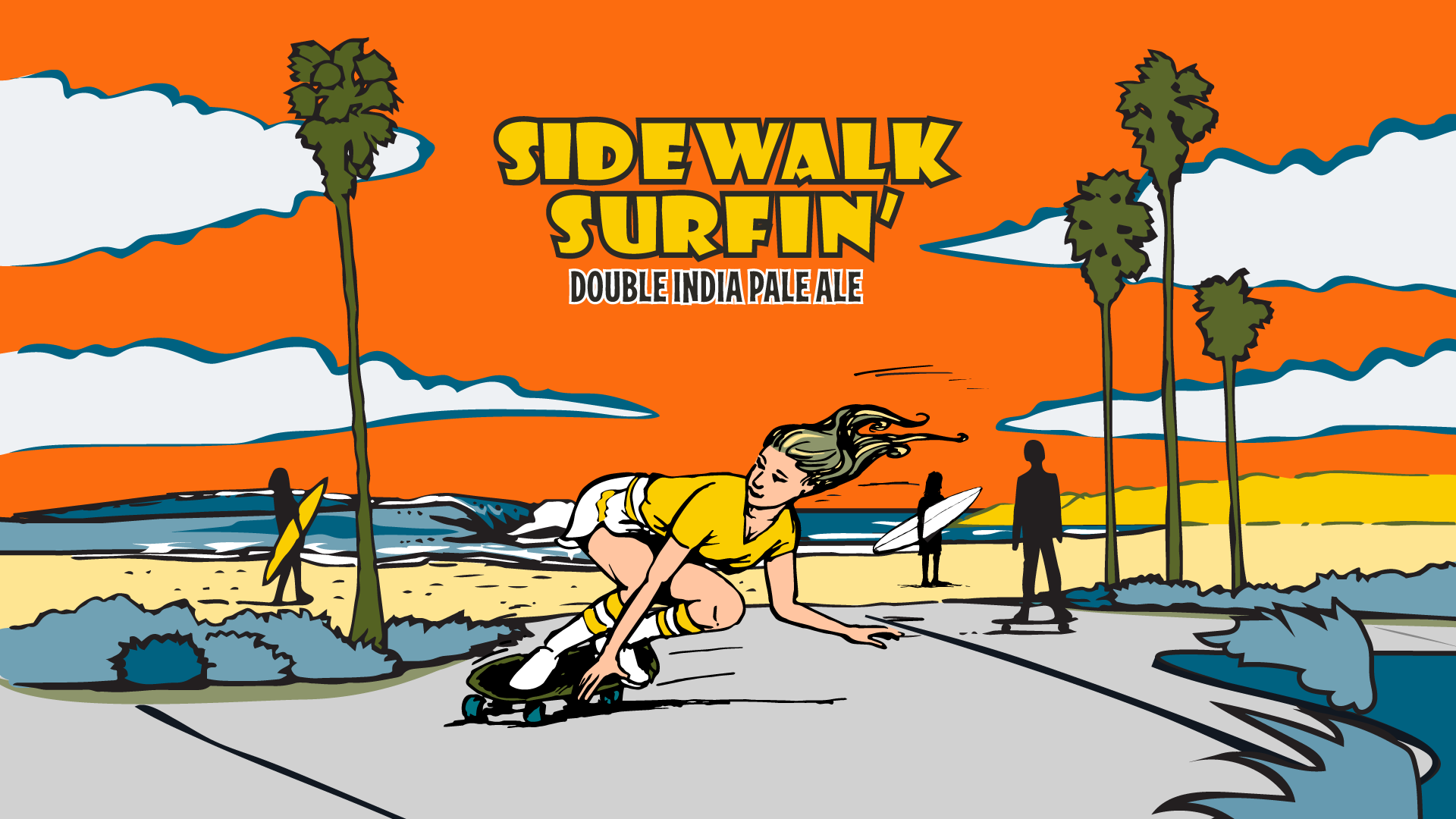 Sidewalk Surfin' Can Release