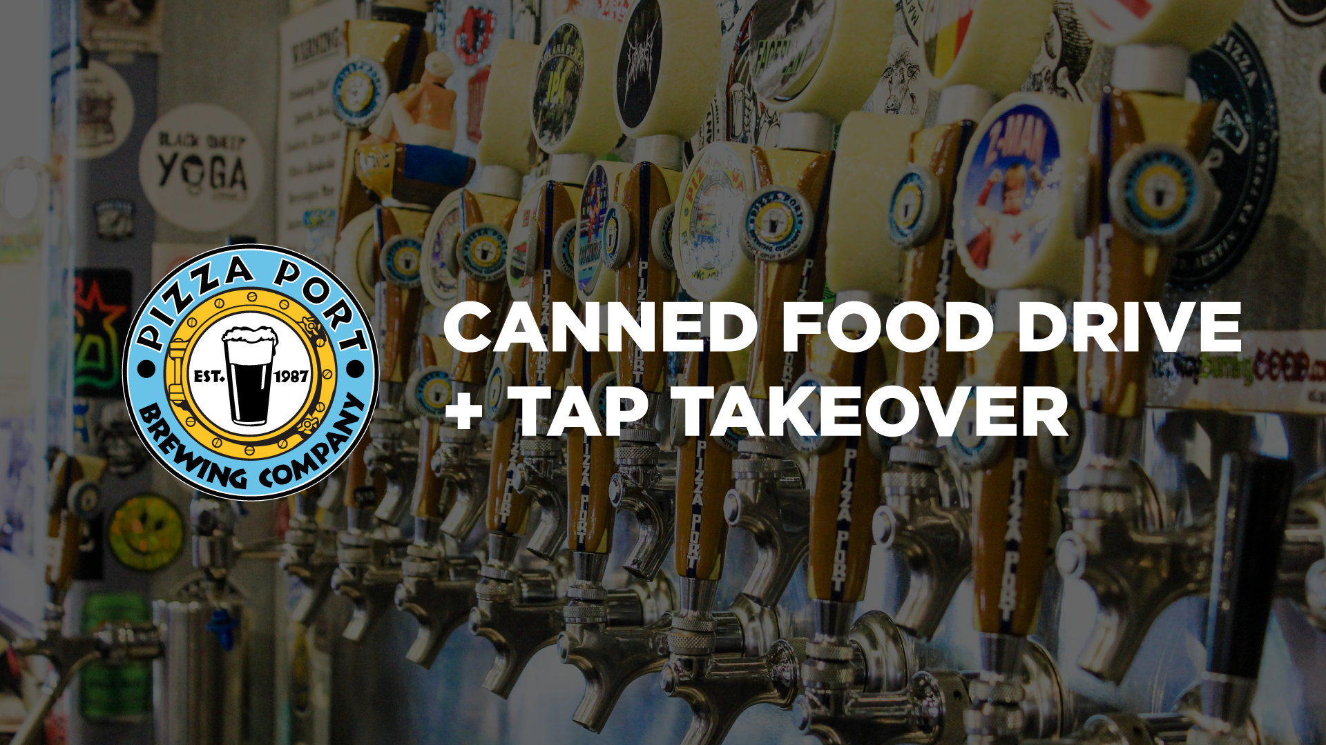 Canned Food Drive & Tap Takeover