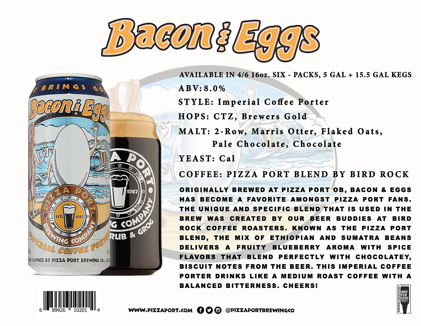 Bacon & Eggs Imperial Coffee Porter