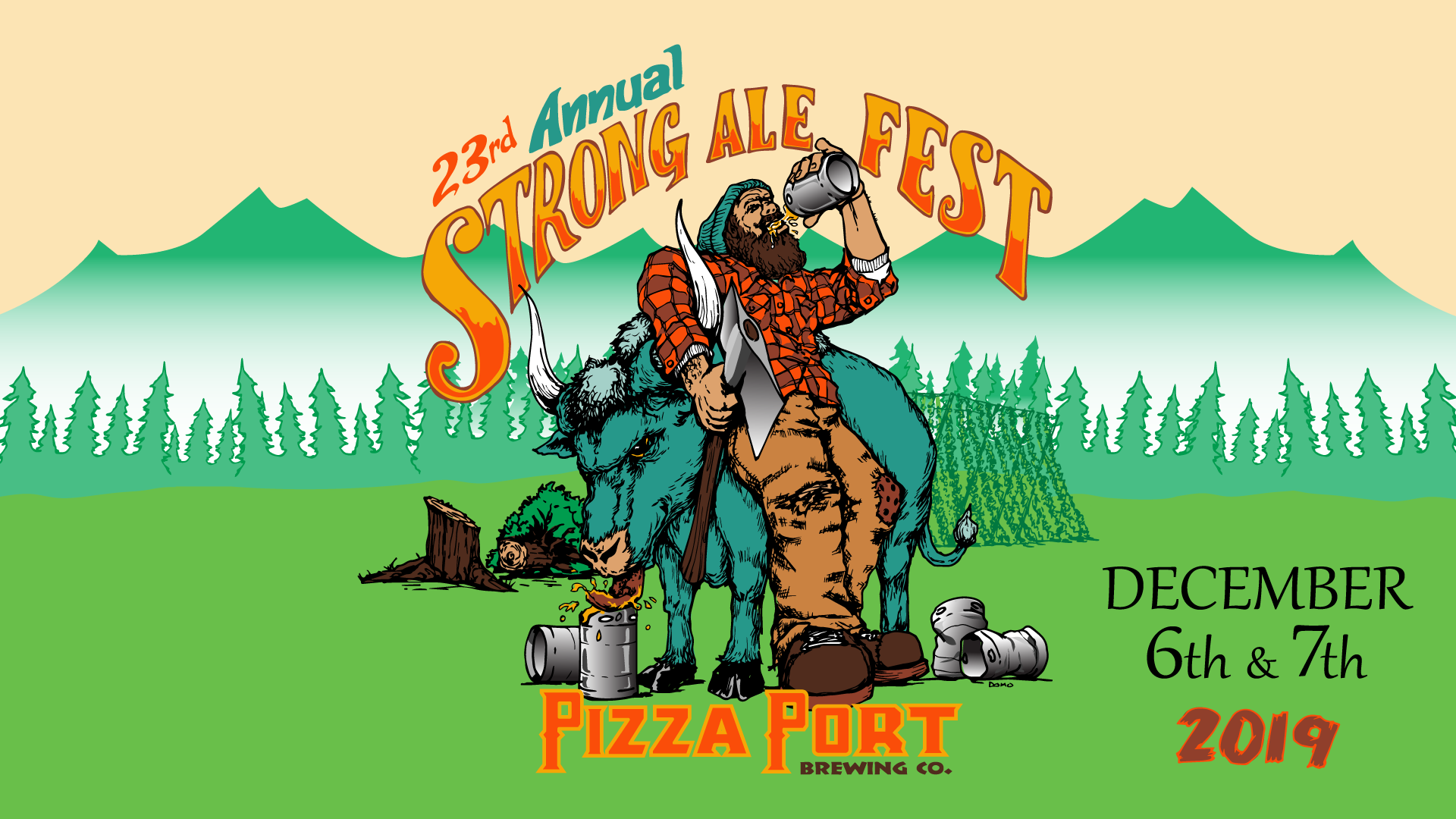 23rd Annual Strong Ale Festival