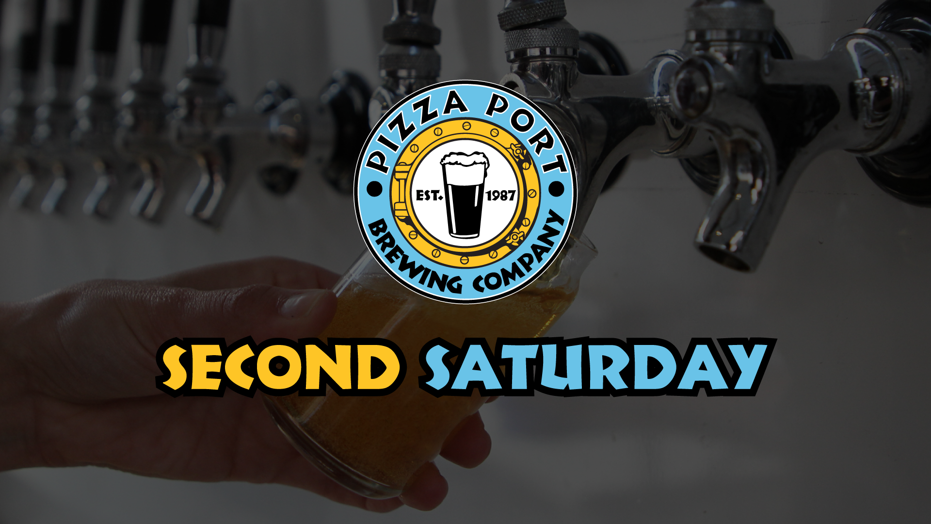 Second Saturday with Pizza Port Brewing