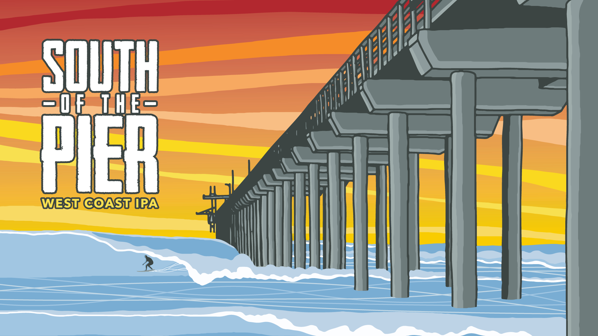 South of The Pier Party