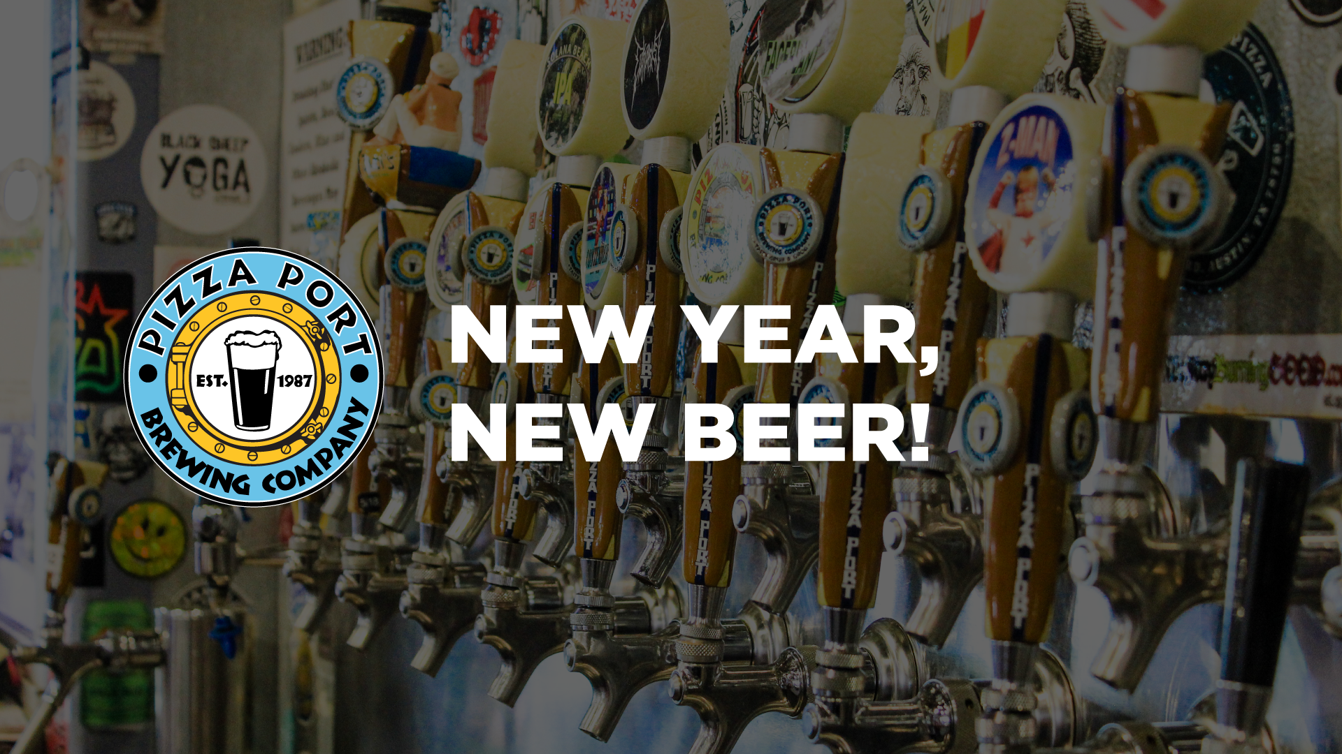 New Year, New Beer! with Pizza Port, Odell and Sierra Nevada