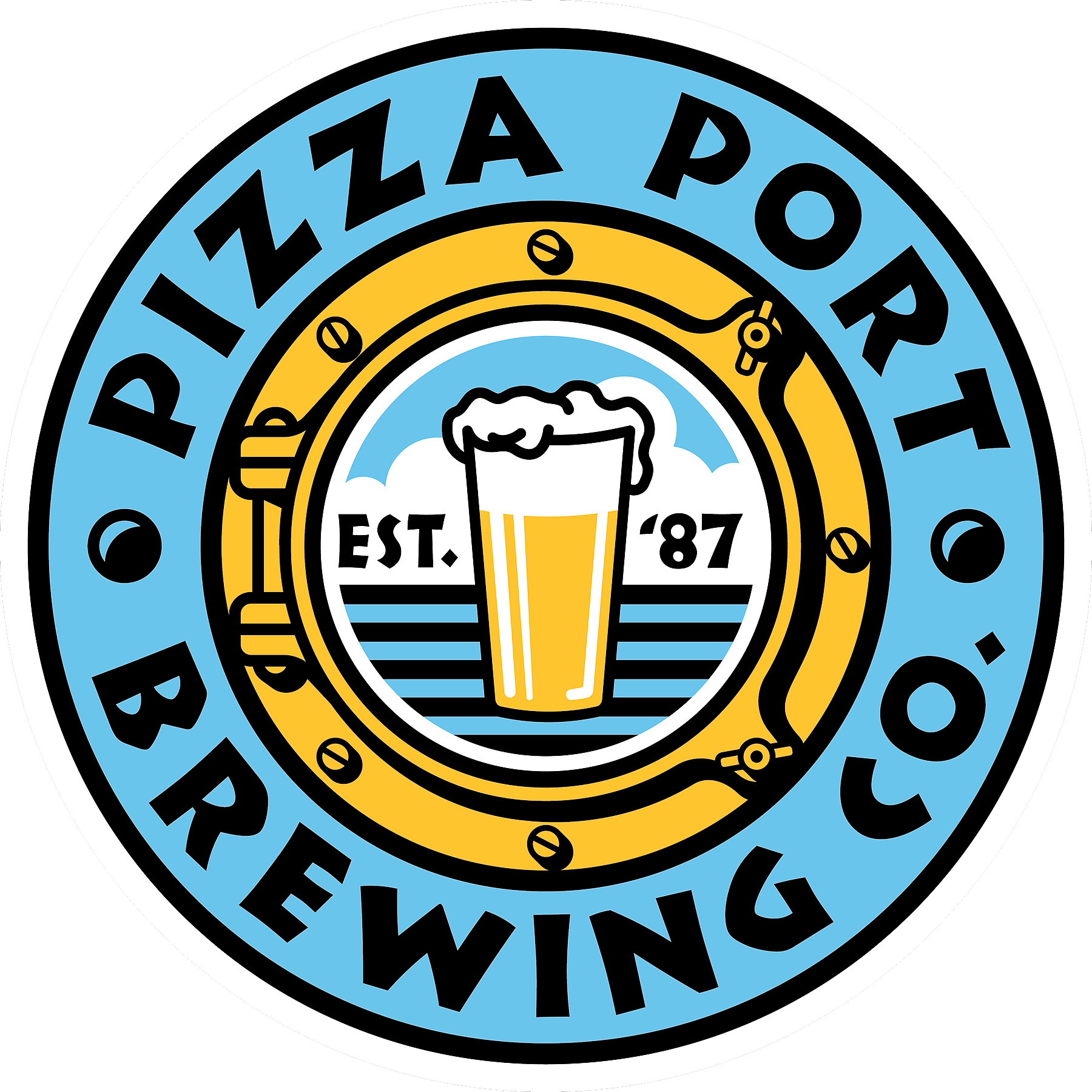 Pizza Port Brewing Co. Logo