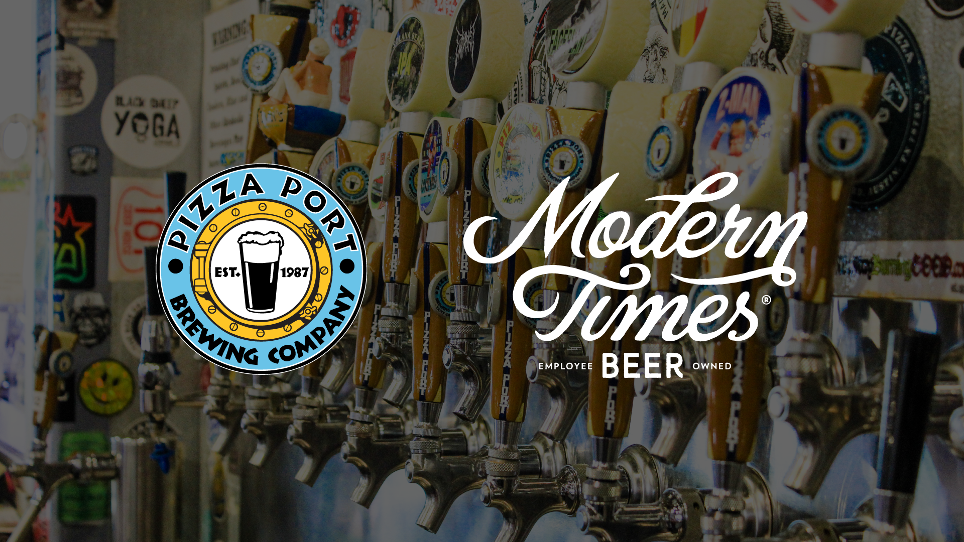 Pizza Port and Modern Times Tap Takeover