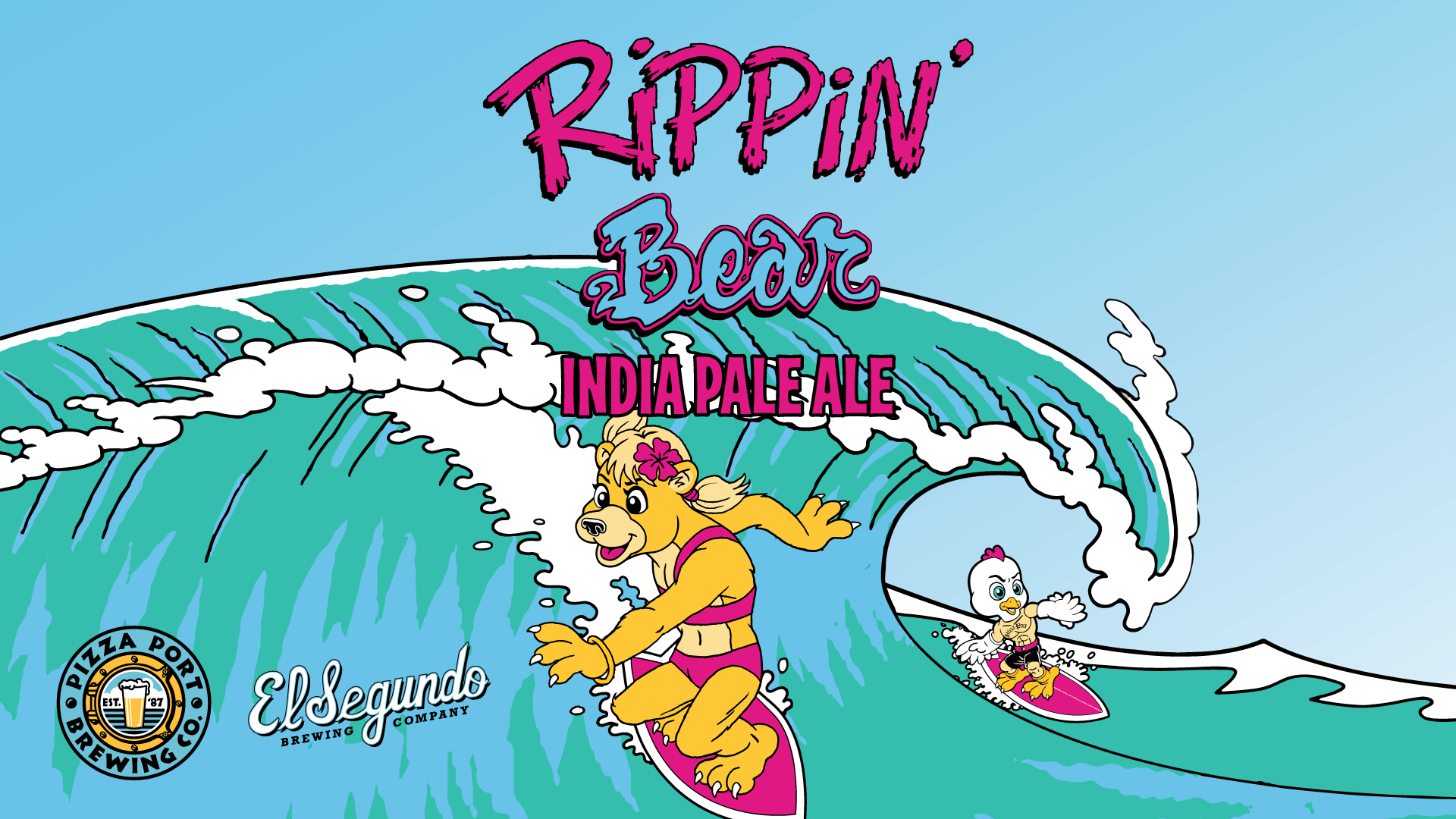 Rippin' Bear Can Release